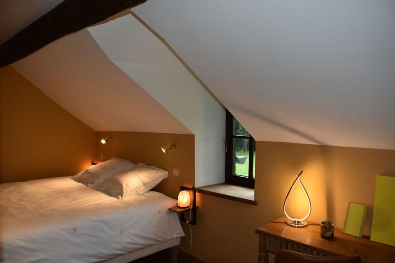 seconde chambre à coucher de votre gite